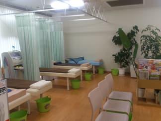ケイズ整骨院の施術スペース