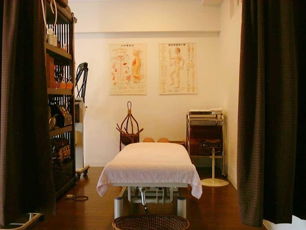 伊東鍼灸整骨院の施術室